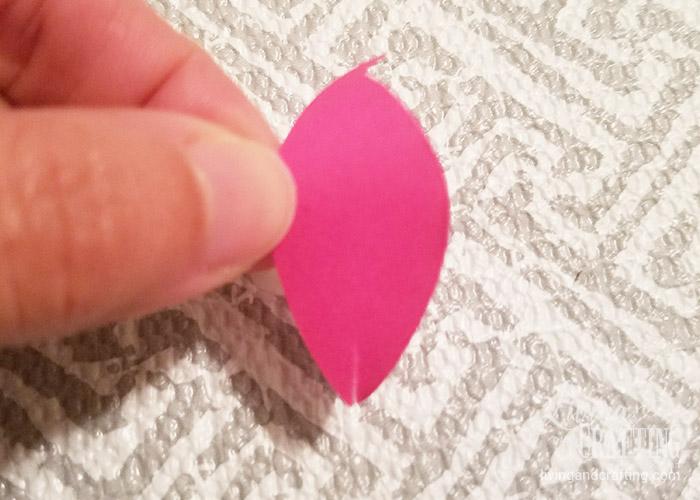 DIY Mini Hope Paper Flower 3
