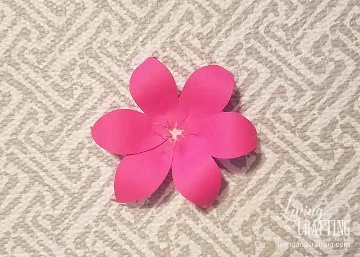 DIY Mini Hope Paper Flower 7