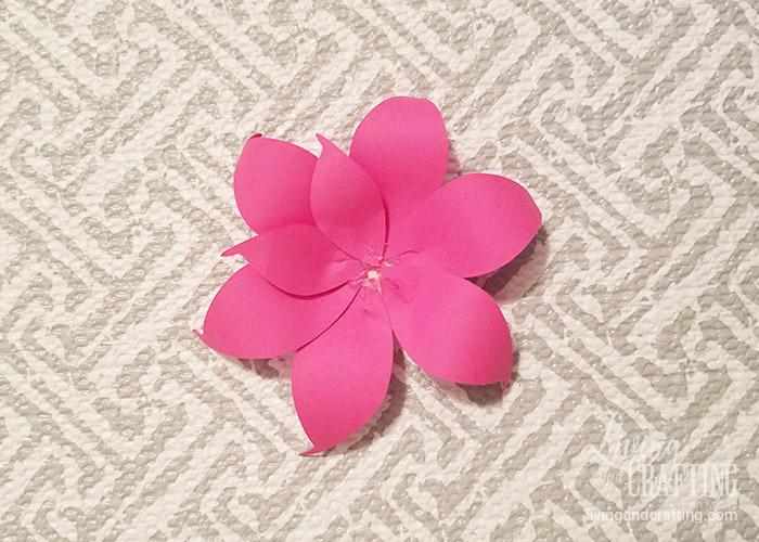 DIY Mini Hope Paper Flower 8