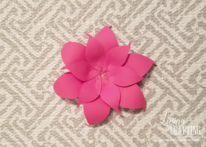 DIY Mini Hope Paper Flower 9