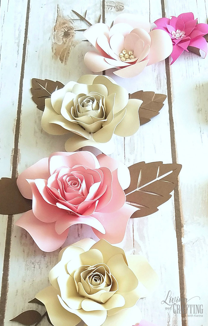 Mini Sweet Paper Flower decor