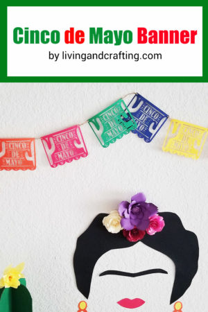 Cinco de Mayo Banner with Free Cut File
