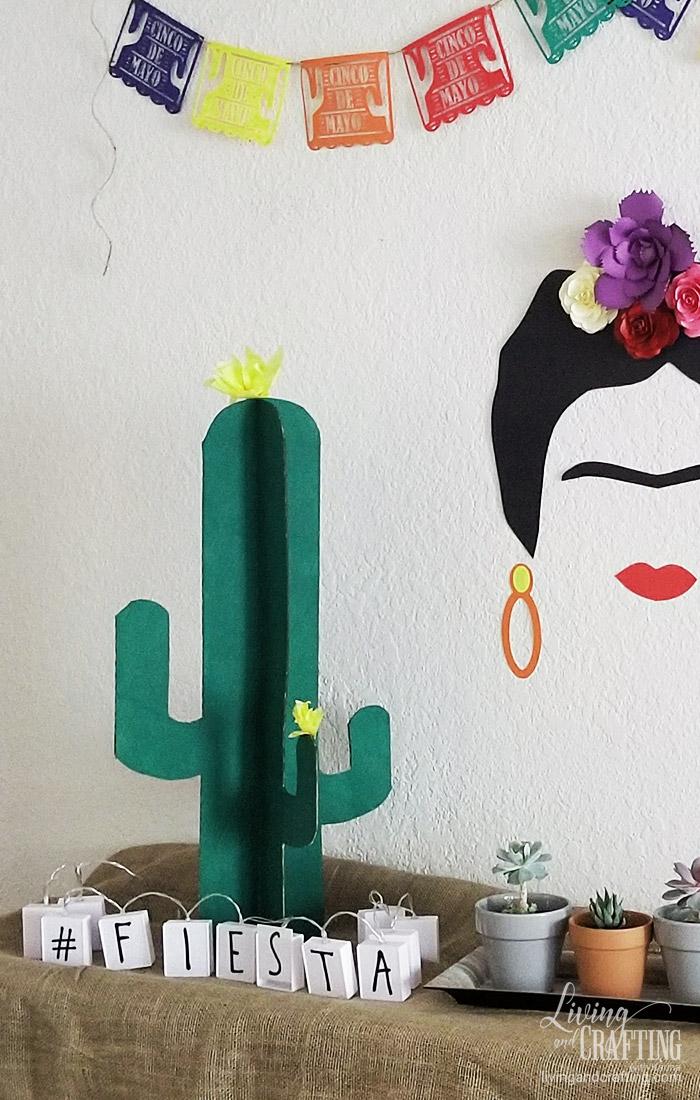 Easy Cardboard Cactus 14