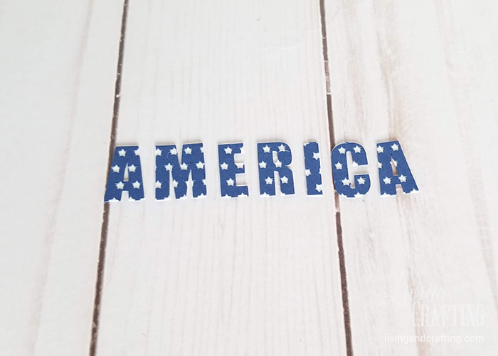 4th of July Rustic Clip Frame 2