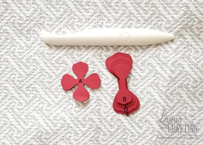 Mini Paper Rose Leftover Pieces 00