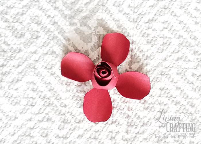 Mini Paper Rose Leftover Pieces 10