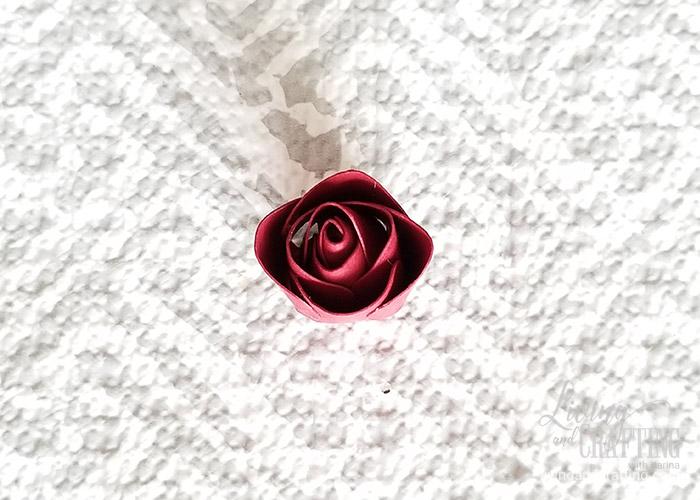 Mini Paper Rose Leftover Pieces 11