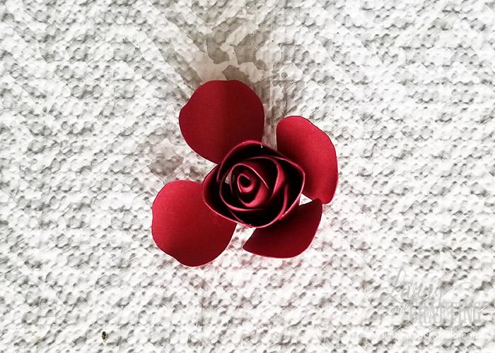 Mini Paper Rose Leftover Pieces 12