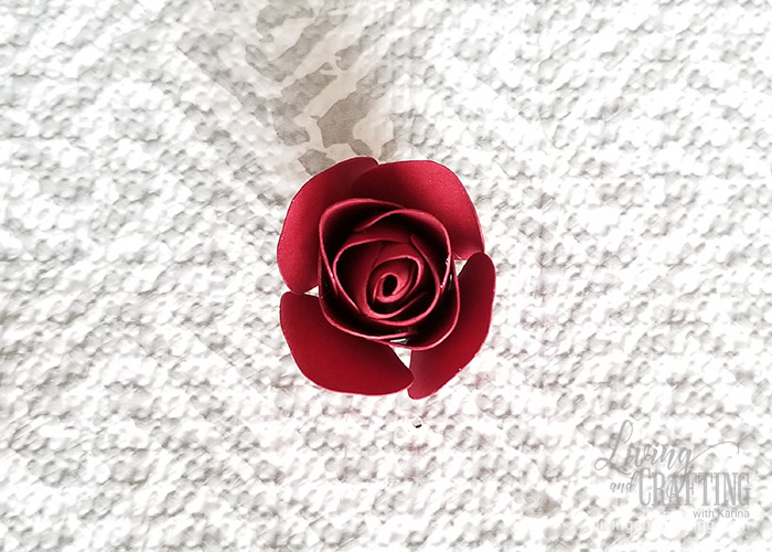 Mini Paper Rose Leftover Pieces 13