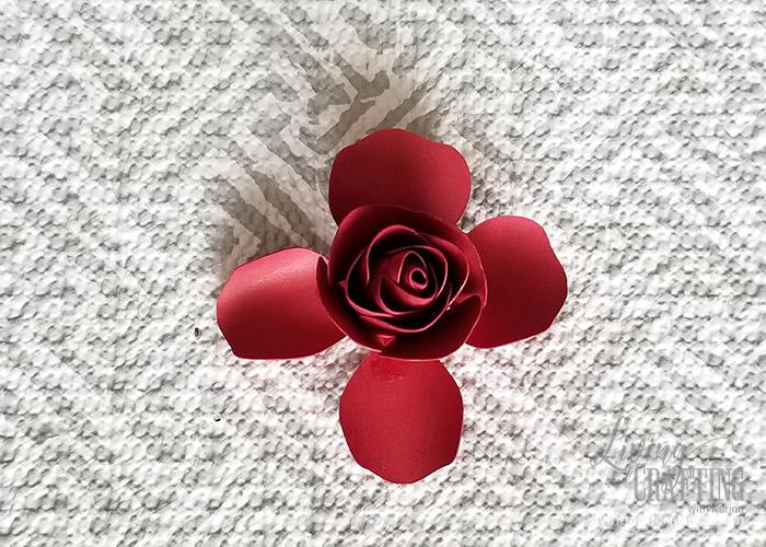 Mini Paper Rose Leftover Pieces 16