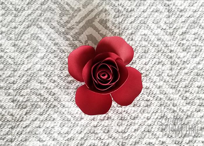 Mini Paper Rose Leftover Pieces 17