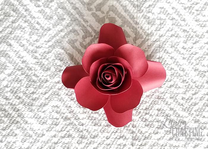 Mini Paper Rose Leftover Pieces 19