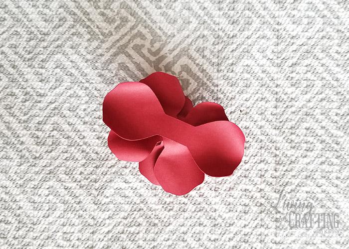 Mini Paper Rose Leftover Pieces 20