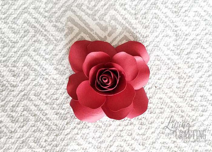 Mini Paper Rose Leftover Pieces 22