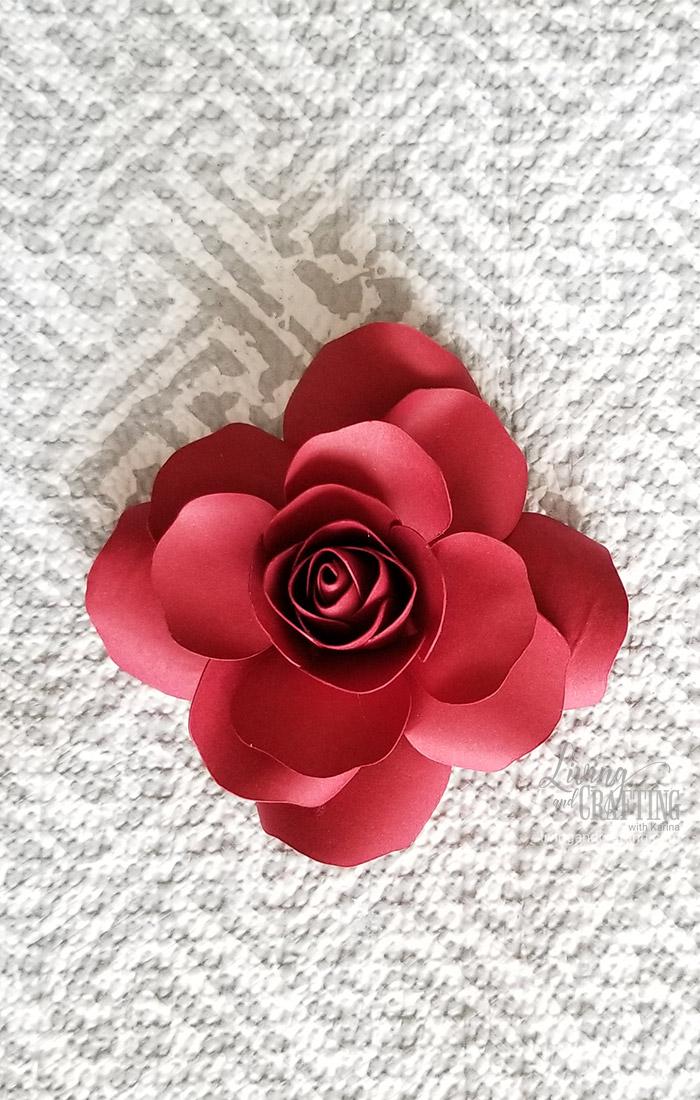 Mini Paper Rose Leftover Pieces 23