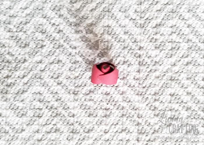 Mini Paper Rose Leftover Pieces 7