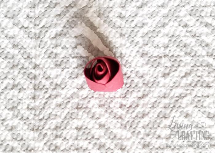 Mini Paper Rose Leftover Pieces 9