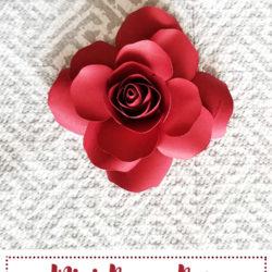 Mini Paper Rose Leftover Pieces ft