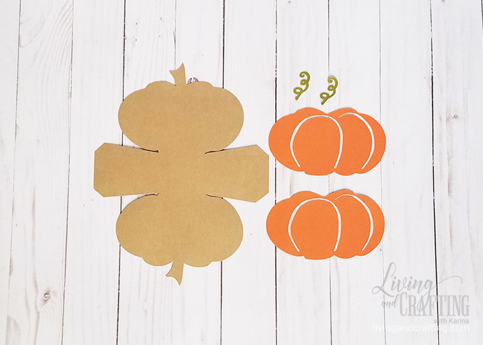 Pumpkin Favor Box 1
