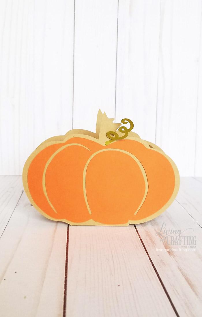 Pumpkin Favor Box 12