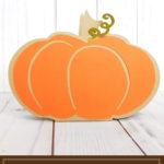 Pumpkin Favor Box ft