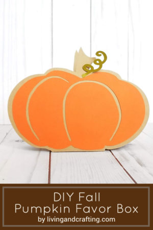 Pumpkin Favor Box – DIY Fall