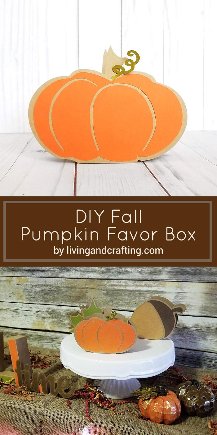 Pumpkin Favor Box pint
