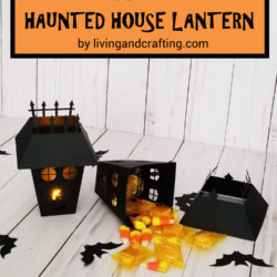 Halloween Haunted House Lantern ft