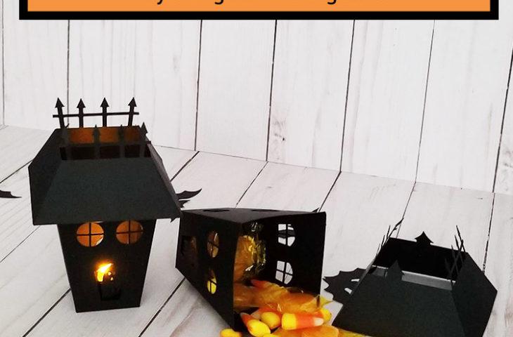 Halloween Haunted House Lantern ft