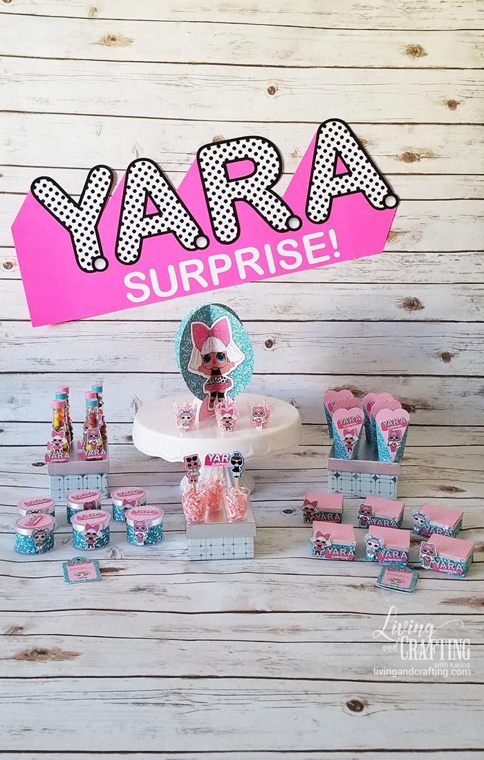 lol surprise box party kit