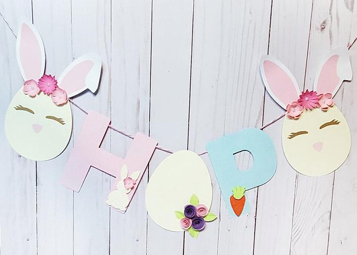 Easter Banner beauty