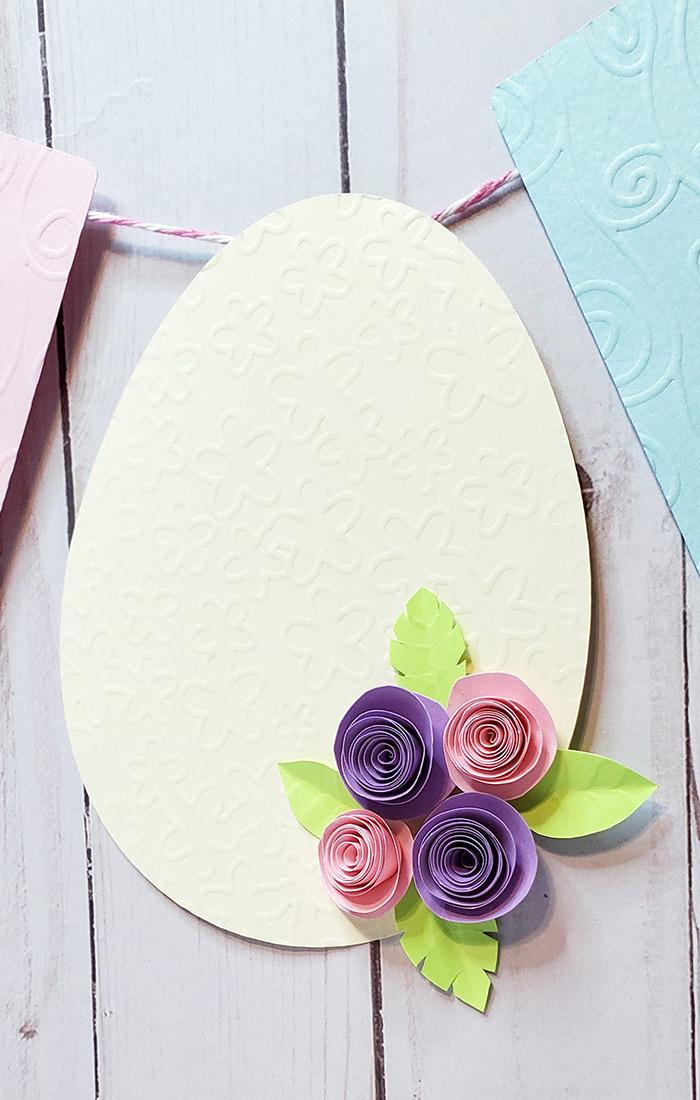 Easter Banner egg