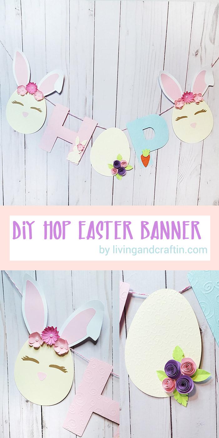 Easter Banner pin