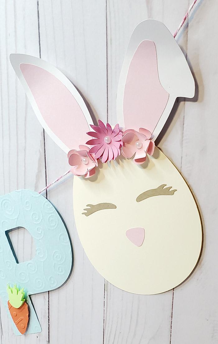 Easter Banner rabbit